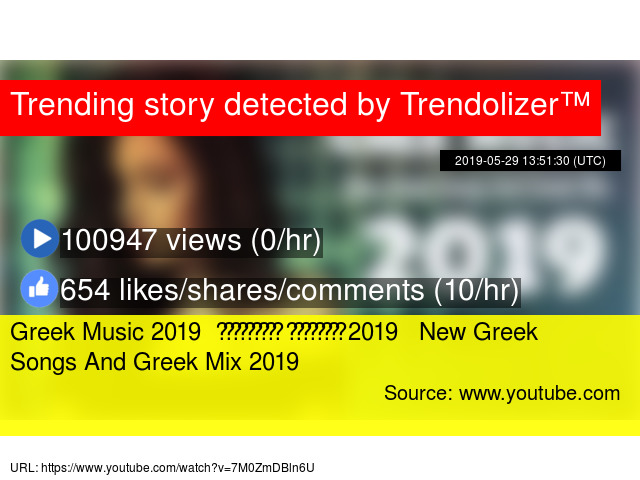 Greek Music 2019 Ελληνικής Μουσικής 2019 New Greek Songs And Greek